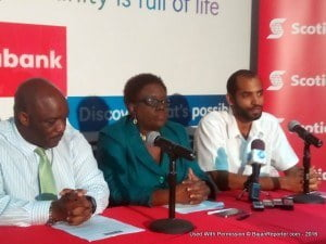 This was confirmed at the Sky Mall when Blue Waters productions held a launch at the programme's headquarters in Scotiabank's Haggatt Hall offices...
