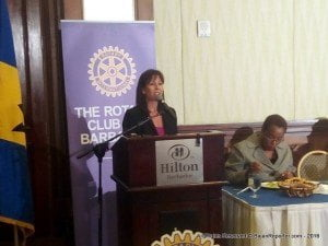 Annie Bertrand, Director of Community Services for the Rotary Club of Barbados, said given the increased penetration of technology, online bullying was severely affecting the well-being of children.