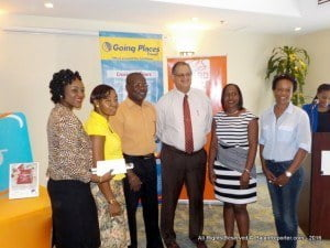 Winners this year made a donation of $1,000 to The Barbados National Organization of the Disabled Inc. (BARNOD).