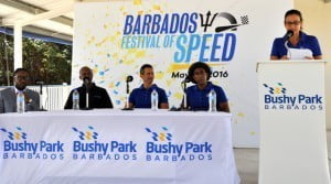 Hamilton's second appearance in front of island fans was confirmed on February 19 by Bushy Park Circuit Inc (BPCI) Business Development and Marketing Manager Zoe Manning during a Media Briefing in the facility's Open-Air Suites.