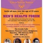 CSS Mens Health Forum Flyer