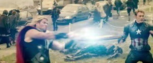 Earth's mightiest heroes return on March 26th for Avengers: Age of Ultron. When Ultron - the peacekeeping operating system designed by Tony Stark and Bruce Banner - goes rogue, it is up to the Avengers to stop the villainous android from enacting his plans, and save the world. The star-studded cast features Chris Evans, Chris Hemsworth, Mark Ruffalo, Jeremy Renner, Samuel L. Jackson, Don Cheadle (HBO's House of Lies), Academy Award® nominee Robert Downey Jr., and Golden Globe® nominees Scarlett Johansson and James Spader.