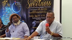 Smoky Burke made his plea in the Barbados Diabetes Foundation in Warrens, behind the Edgar Cochrane Polyclinic, he noted it takes 13 teaspoons of sugar for the average bottle of Coke and the drink with the most sugar is said to be an orange Fanta.