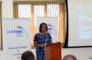 Dr Alafia Samuels, Co-Chair of the Pan American Health Organization Foundation's Technical Advisory Group
