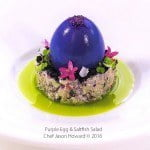 Purple Egg Saltfish Salad CJH