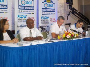 """I am also very pleased to announce that for the first time ever, all the action from both events will be delivered to a regional audience in high-definition via Flow TV. A team from Flow Sports will be in Barbados to record, package and produce more than six hours of coverage for Rally Barbados which will be shown tape-delayed the following day across the Caribbean."""
