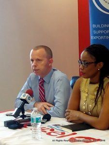 """Our aim is to allow customers to take control of how they use their data while getting more for their money, and that is why we have created these simpler plans that fit every customer and the dollars in their pockets,"" said Conor Looney, CEO for Digicel Barbados (left)."