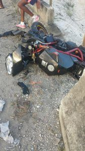 Motorcyclist Quincy Jones 27 years of Bibby's Lane, St. Michael, was driving his motorcycle along the Ronald Mapp Highway, when he apparently lost control and fell. He died at the scene.