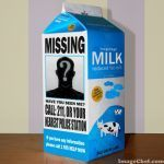 Milk-Carton Plea