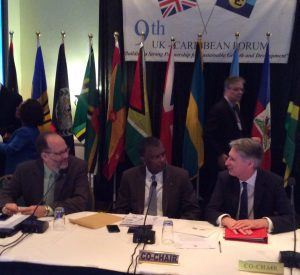 Co-Chairs Honourable Fred Mitchell, Foreign Minister of The Bahamas and the Rt Honourable Phillip Hammond, Foreign Secretary of the UK both expressed their satisfaction at the discussions during a press conference on Saturday at the end of the biennial Forum.