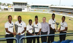 Another major part of Digicel's new commitment to West Indies Cricket will be the coaching clinics that will be developed across the Caribbean to find and nurture the cricket stars of the future - as well as a strong mix of branding and advertising at home games, activations, promotional opportunities and more access to the teams. And, for the first time ever, the Digicel logo will also have a presence on all West Indies team's jerseys at ICC events.