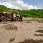"""""""My information is that the sea sand from Foxes Bay is being mined exclusively by a major funder of PDM and he will be exporting OUR sea sand probably as early as this weekend. This is in contravention to the laws of Montserrat,"""" he added."""