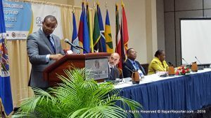 This disclosure came from Minister of Finance and Economic Affairs, Chris Sinckler, as he delivered the feature address at the Third Sub-Regional Caribbean Public Procurement Conference at the Lloyd Erskine Sandiford Centre.