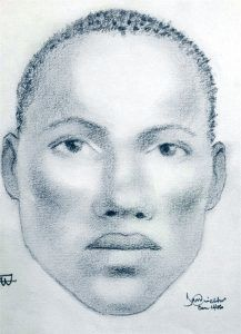 The man appears to be in his early twenties, is about 5 ft. 8 inches in height, of a dark brown complexion, low knotty hair, slim built with a big chest. He has no facial hair, high cheek bones, full eyes, small mouth with thick lips.