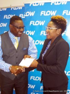 Referring to Flow's partnership with the Community Development Department, Ms. Sealy reaffirmed the company's commitment to the programme and said that they were happy to join forces to offer young people the opportunity to sharpen their IT skills.