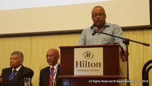 Minister of this portfolio, John Boyce, addressed participants and members of the 31st gathering of the Caribbean Cardiologist Society at Hilton Barbados - he explained what the first batch of graduands will be fully prepared on entering the workforce as medical professionals for the Intensive Care Unit and Cardiac Suite after training since August last year and May this year.