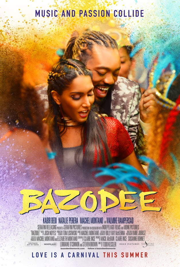 Starring international music sensation MACHEL MONTANO in his feature film debut, BAZODEE aims to introduce soca music, a Caribbean music that originated within a marginalized subculture in Trinidad and Tobago in the late 70s, to audiences nationwide while combining it with the flair of Bollywood tradition.