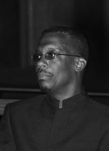 Lasana M. Sekou, author of the new poetry collection Book of The Dead. (HNP photo)