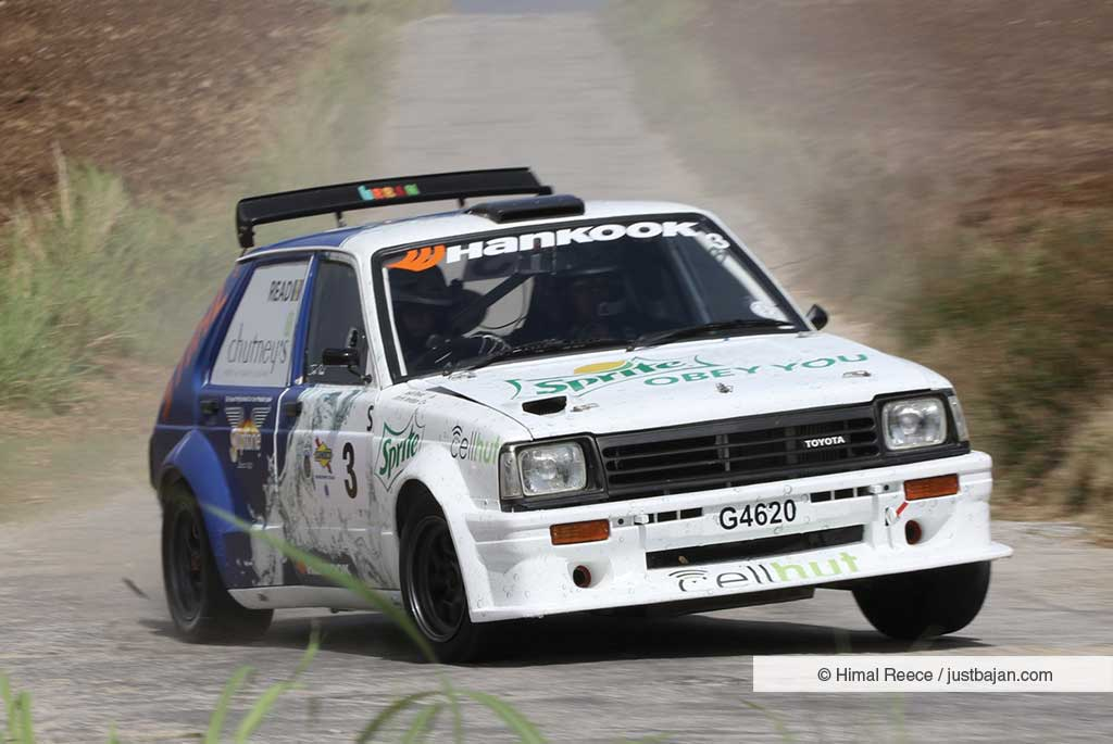 The Bajan Reporter | READ LEADS BARBADOS RALLY CLUB TITLE