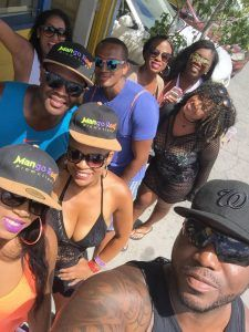 The MRP team created a one-of-a-kind party bus experience for Cropover clients and will do so again for 2016 Miami Carnival patrons