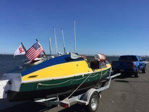 Spirit of Malabo rowboat