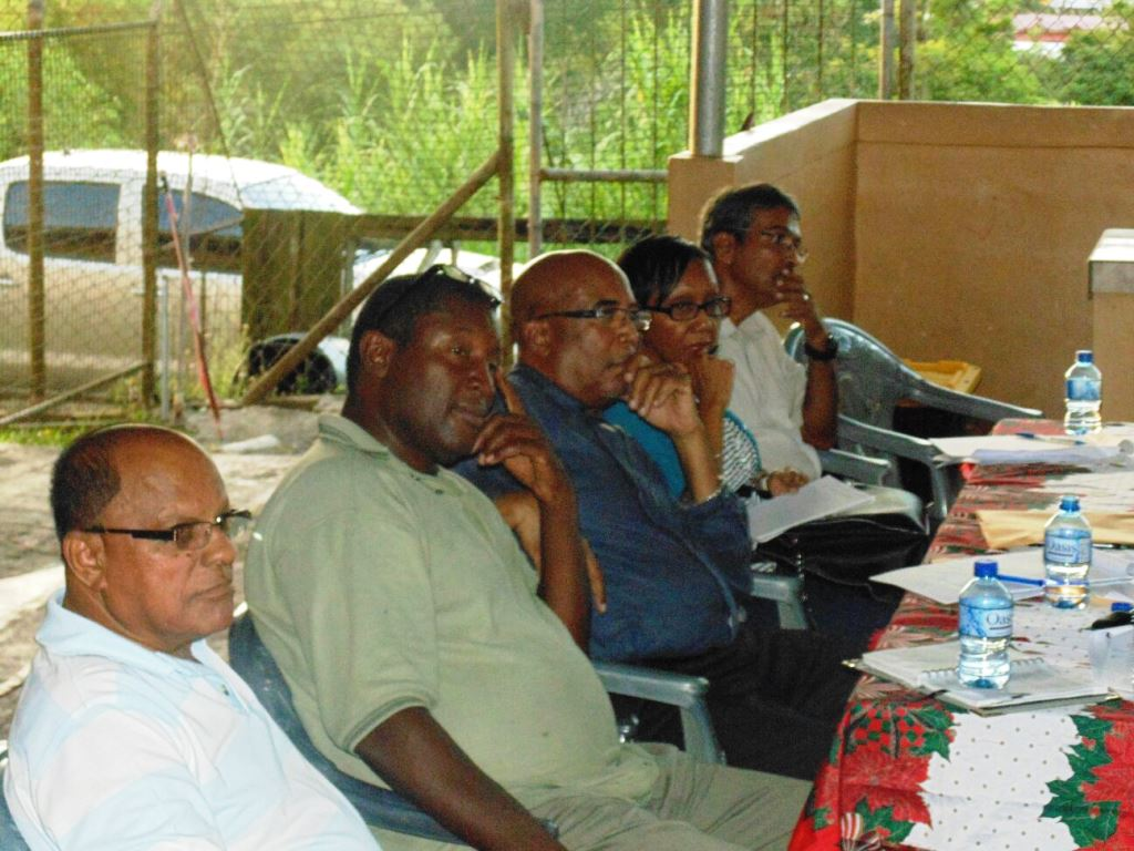 Board Members of CDCTTL pay rapt attention