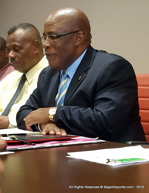 Yet, many workers with over 10 and even 15 years' employment at the Commission were made redundant while those with 1 or 2 years' employment were kept on the job, including persons related to the Minister in charge of the NCC, Denis Lowe.