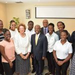 Baroness Anelay with Minister Lashley and Princes Trust International