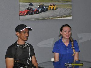 """Maloney (left) confirmed that BFoS 2017 will again be hosting Formula 1 talent and also looked forward to other potential developments that will further enhance BFoS: """"The facility is aiming to install permanent lighting for a continuous option for night racing in the country and BFoS will be no exception. With successful night races being held before, we expect that this will continue to be a crowd pleaser. We are also looking at expanding the track using the neighbouring lands to allow for a greater cross-section of vehicles and entertainment in the years to come."""""""
