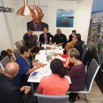 Barbados Team in Meetings at WTM London 2016