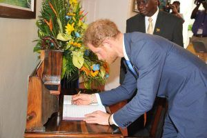 During the talks, HRH Prince Henry and Prime Minister Stuart discussed the Regional Security System's Fusion Centre which was built by the British, the Olympic Games and Barbados' focus beyond 50, among other issues.
