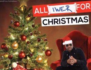 """(IMAGE VIA - trinidadexpress.com) """"Iwer For Christmas (Official Music Video)"""""""