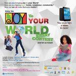 Joy To Your World Essay Contest Flyer facebook 1