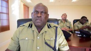 Superintendent Trevor Mills, Officer-in-Charge of the Royal St. Christopher and Nevis Police Force, Nevis Division