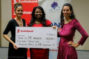 Sharon Small, Marketing Manager, Scotiabank East (CENTRE) and a permanent Judge remarked: Amanda's company Grow It! really exemplifies what Scotiabank and Blue Waters Productions have been working to achieve through Bank on Me. A key focus of the show is to educate and empower Barbadian entrepreneurs and give them the tools to help their businesses progress and grow. We have seen growth in Amanda and we heartily congratulate her on her win.