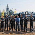 breitling jet team intrepid new york american tour