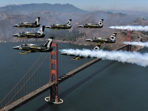 After taking part in 30 airshows, giving 70 public demonstrations, touching down in 35 American states and covering about 46,300 kilometers, the ambassador of the independent Swiss watch brand Breitling bid farewell to the New World on October 21st to 23rd at the first Breitling Huntington Beach Airshow, in California.