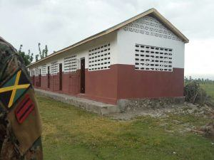 The rehabilitation of the school was facilitated by Structural Engineer, Grenville Phillips, who donated his time to provide supervision and onsite training to Haitian artisans.