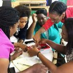 1 Jamaica teachers building series and parallel circuits with assistance from Dr. Cathy Radix facilitator