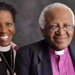 Archbishop Desmond Tutu and daughter Reverend Canon Mpho Tutu van Furth