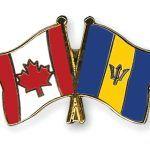 Flag Pins Canada Barbados