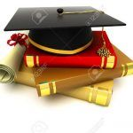 1 123rf Mortar Board on Book Stock Photo graduation