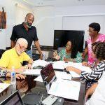 1 Haitian Delegation Visits