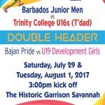 BRFU Juniors vs Trinity College promo 2017 01