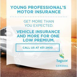 Sagicor General - YOUNG PROFESSIONALS MOTOR INSURANCE