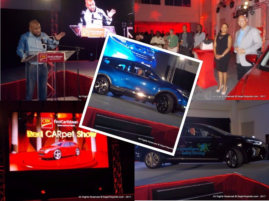 The Bajan Reporter CIBC FirstCaribbean Red CARpet Show Debuts At - Car show carpet