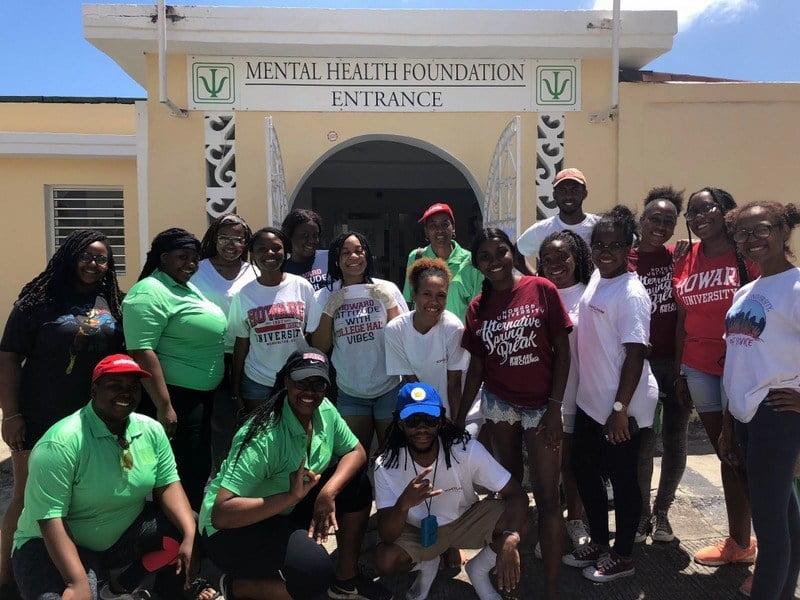 The Bajan Reporter Howard University Students Volunteer In St
