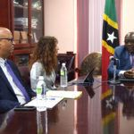 PM Harris holds discussions with IMF Regional Chiefs