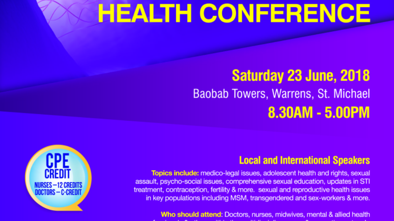 The Bajan Reporter | 2nd Annual Sexual Reproductive Health