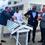 Barbuda ChinaAid roof restoration closing UNDP PM Gaston Browne China Ambassador 12 July2018 HI RES 2